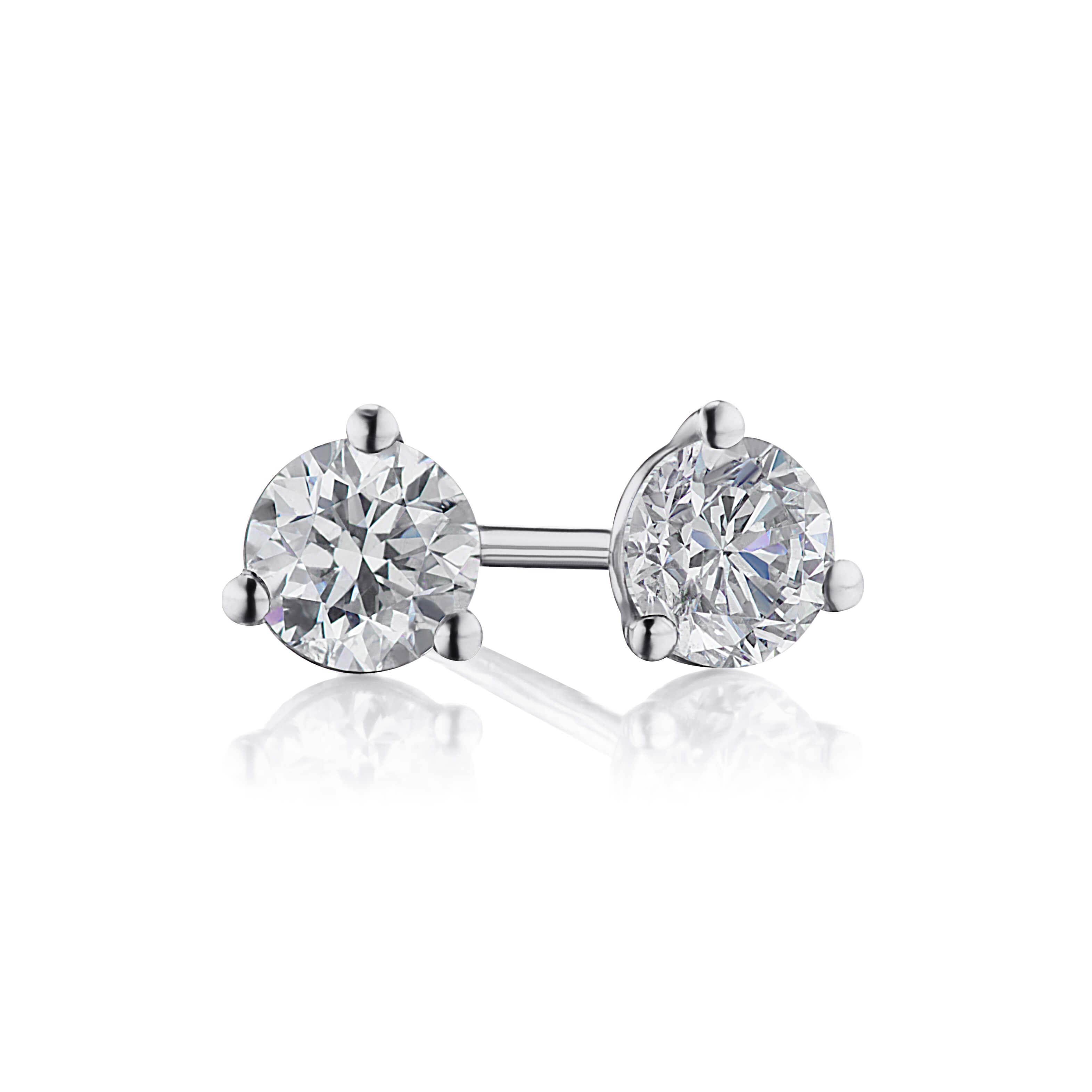 .74ct. Diamond Studs