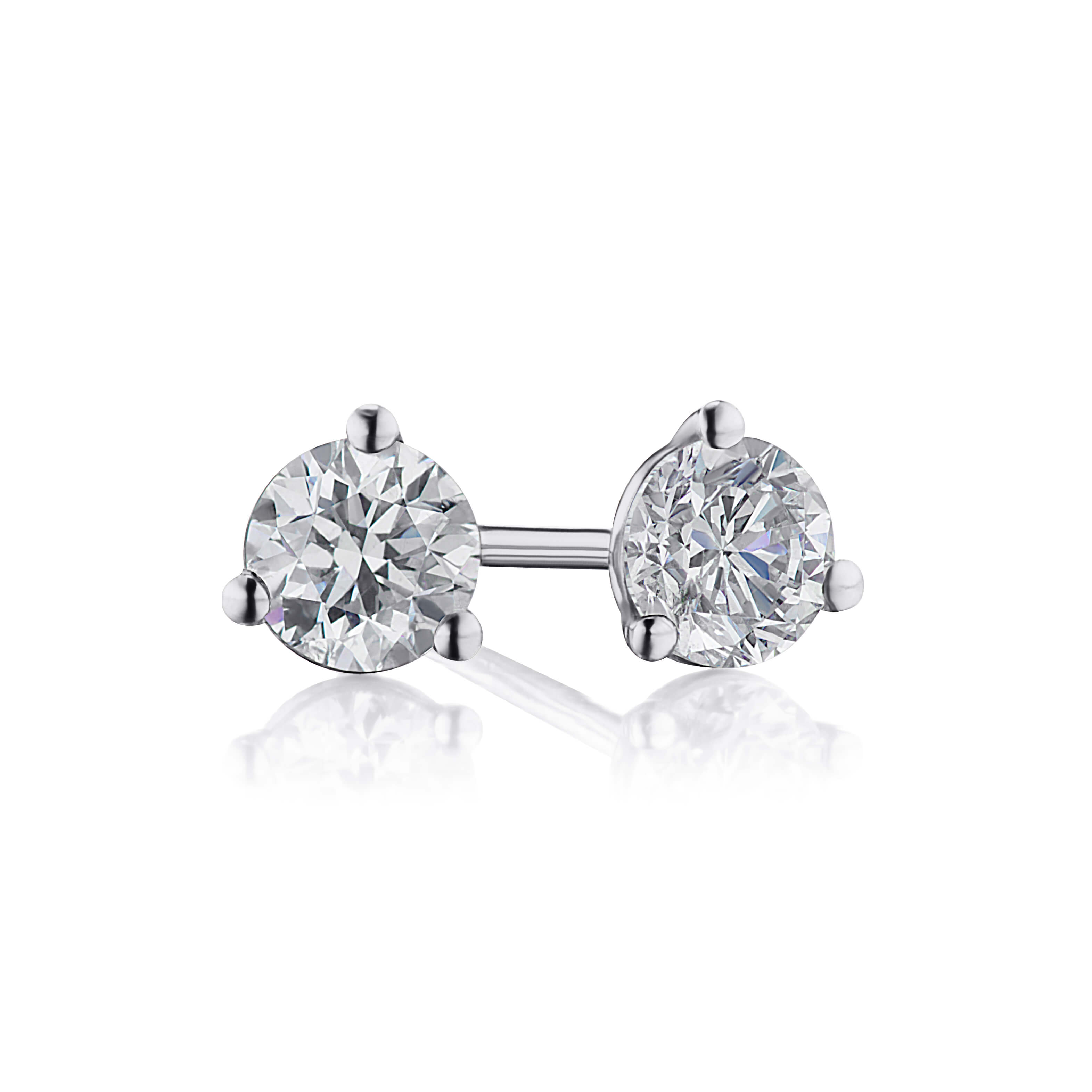 .83ct. Diamond Studs