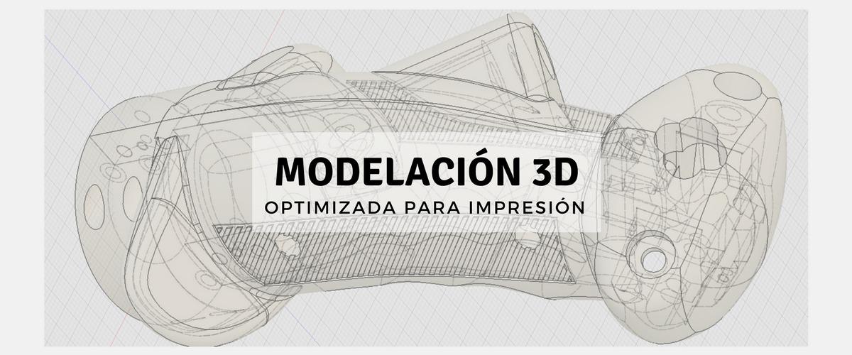 Servicio de Modelación 3D para impresión 3D