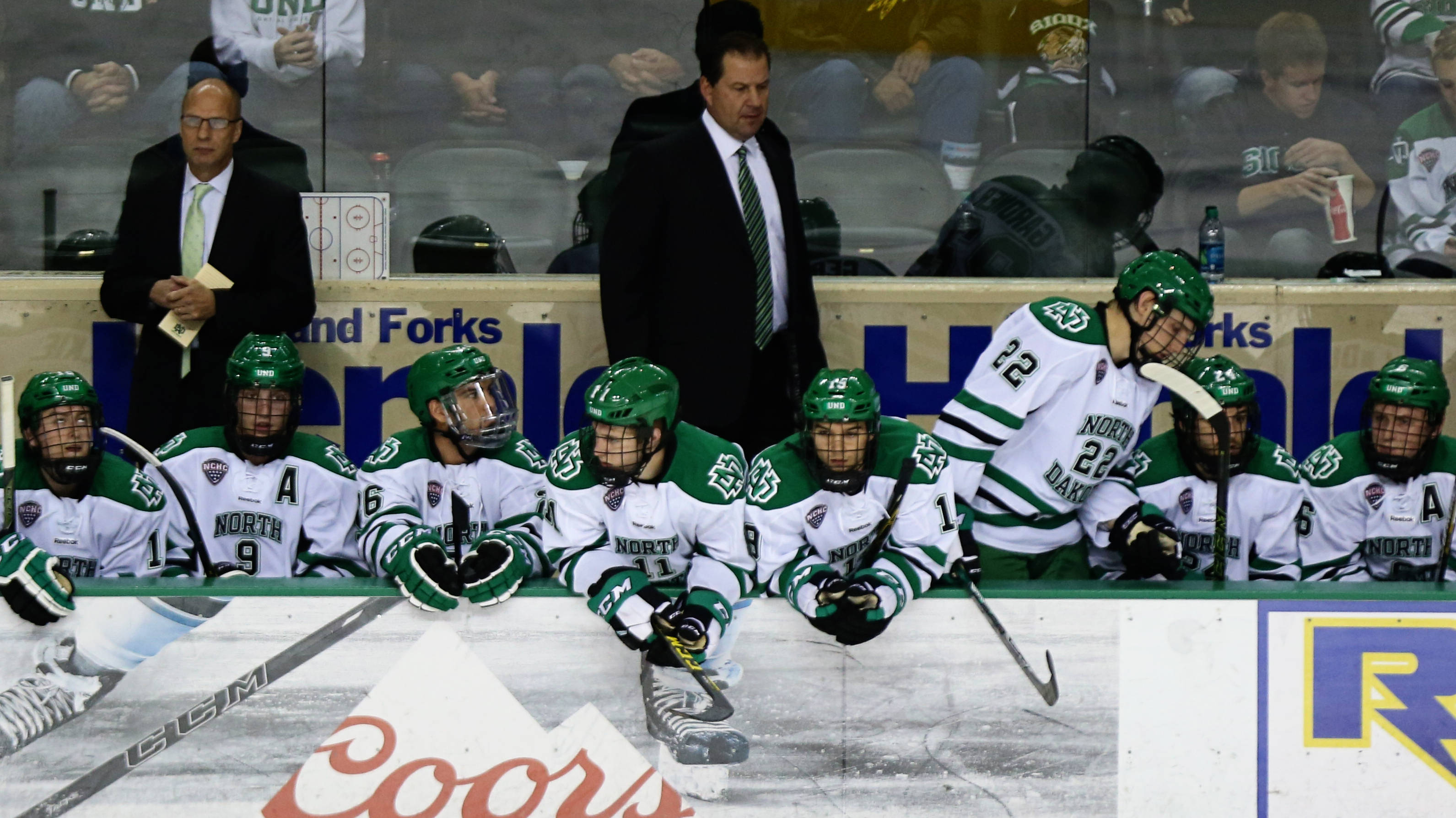 overtime tie enough to secure ice breaker title - north dakota athletics