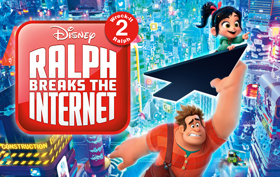 Ralph Breaks the Internet | Display Ad & Social Campaign