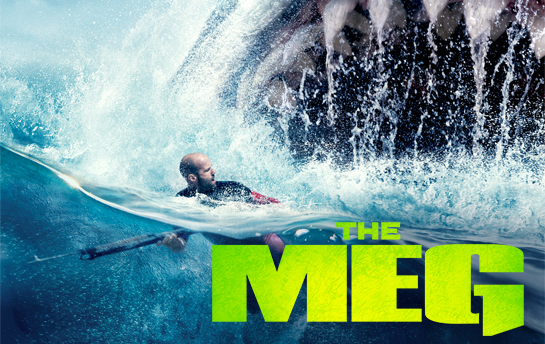 The Meg | Web Site, Display Ad & Social Campaign