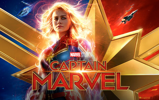 Captain Marvel | Social & Display Ad Campaign