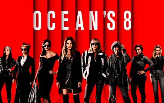 Ocean's 8 | Web Site & Display Ad Campaign