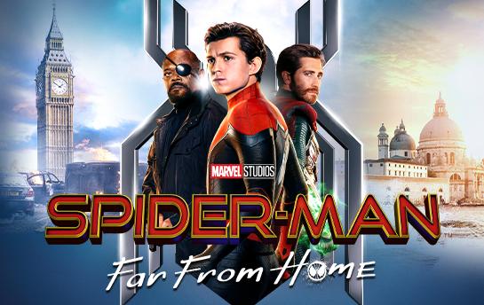 Spider-Man Far From Home   Social & Display Ad Campaign
