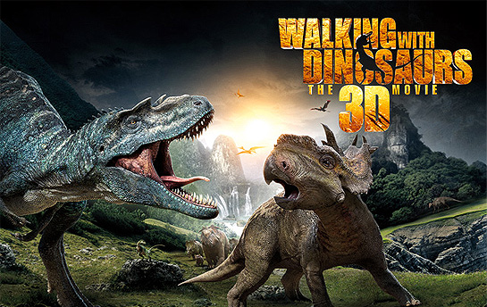 Walking with Dinosaurs 3D | Display Ad Campaign