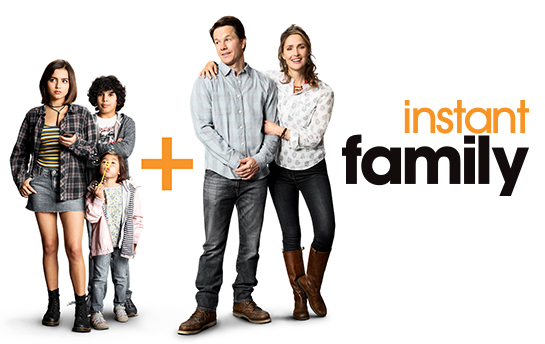 Instant Family | Social Content
