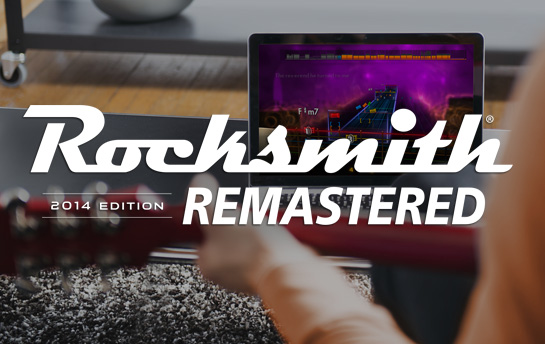 Rocksmith Remastered | Display Ad Campaign