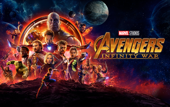 Avengers Infinity War | Social & Display Ad Campaign