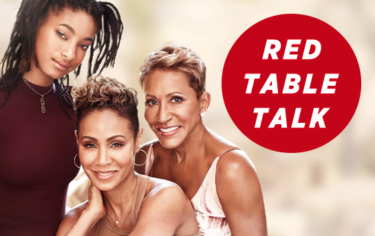 Red Table Talk | OOH & Display Ad Campaign
