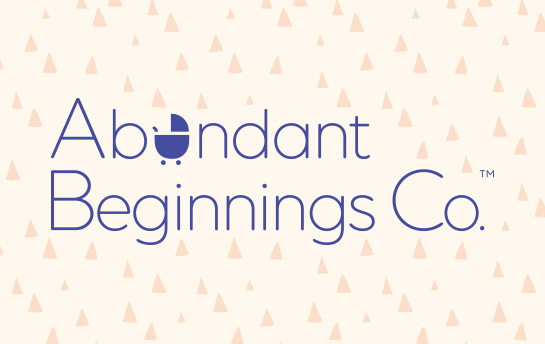 Abundant Beginnings | Branding & Site Design + Build