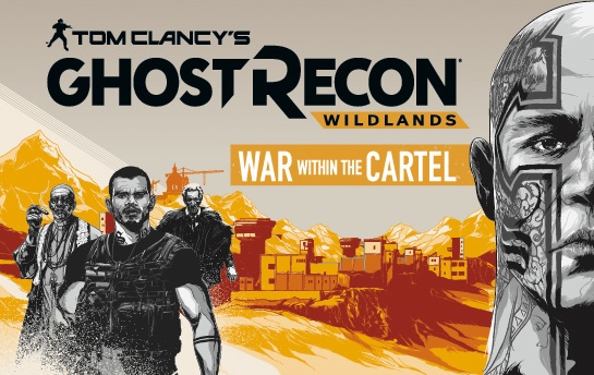 GRW: War within the Cartel | Display Ad Campaign