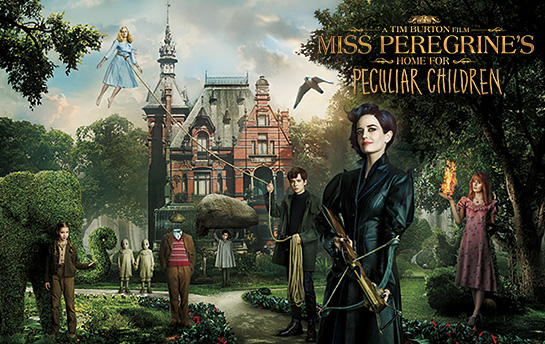 Miss Peregrine's Home for Peculiar Children | Social & Display Ad Campaign