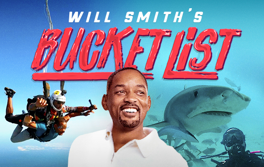 Will Smith's Bucket List | Display Ad Campaign