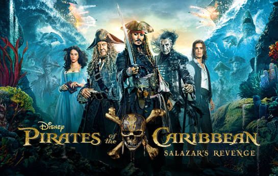 Pirates of the Caribbean 5 | Display Ad Campaign & Social Content Creation