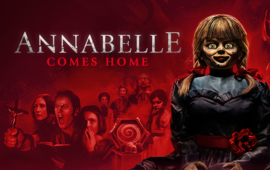 Annabelle Comes Home   Display Ad Campaign
