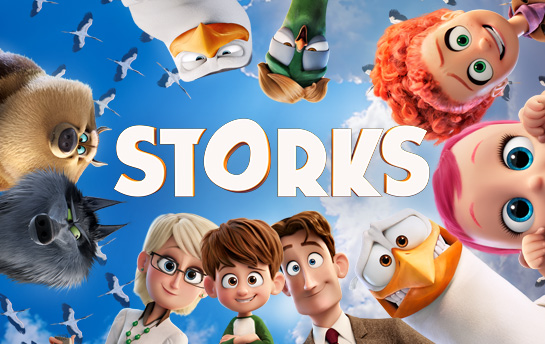 Storks | HTML5 Game & Display Ad Campaign