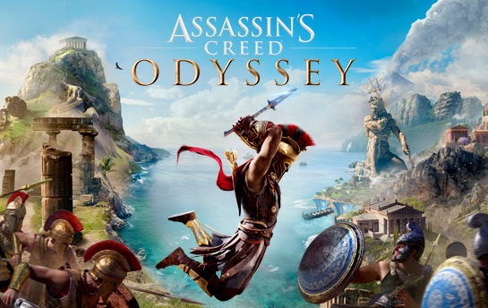 Assassin's Creed Odyssey | Display Ad & Social Campaign