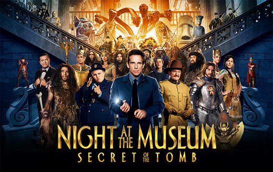 Night at the Museum 3 | Online Quiz + Banner Campaign