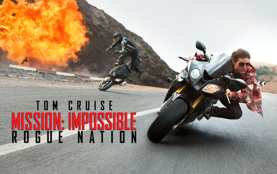 Mission Impossible : Rogue Nation | Display Ad Campaign