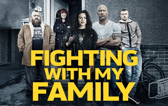 Fighting with my Family | Social & Display Ad Campaign