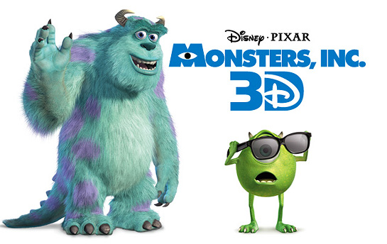 Monster, Inc. 3D | Display Ad Campaign