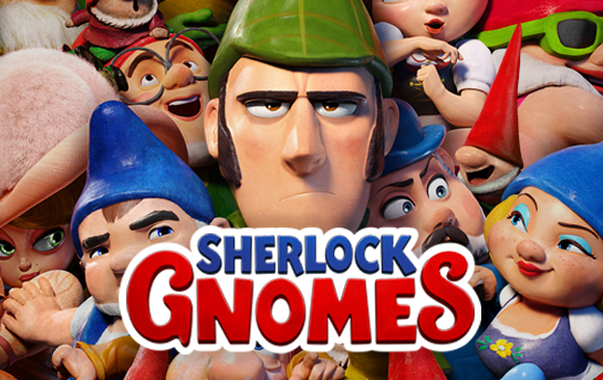 Sherlock Gnomes | Display Ad Campaign