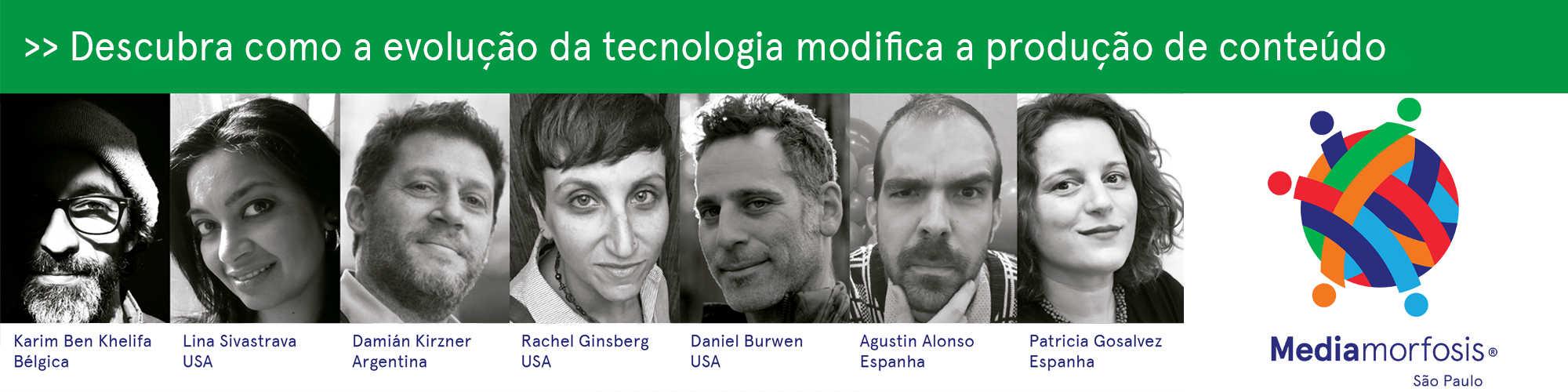 Mediamorfosis São Paulo 2018 reúne 7 especialistas; inscrições seguem abertas
