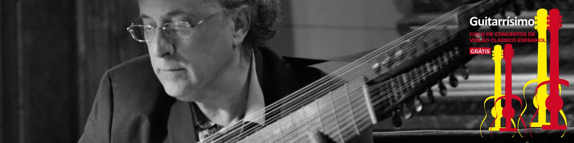 José Miguel Moreno abre ciclo Guitarrísimo; em concerto grátis, músico se dedica ao violão espanhol