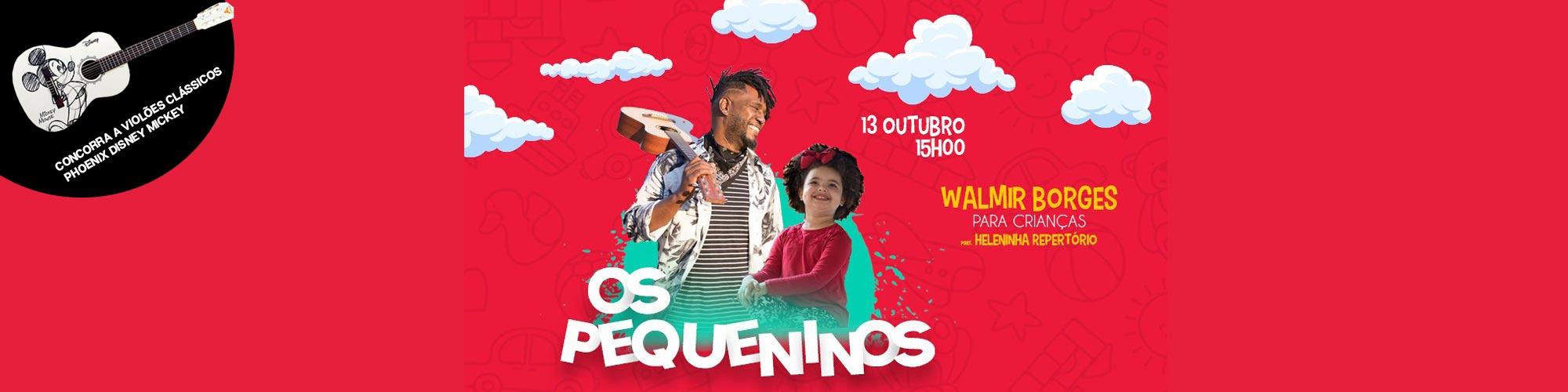Com sorteio de violões, show de Walmir Borges e Heleninha Repertório acontece neste sábado (13/10)