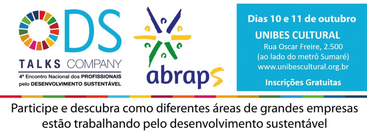 Com executivos de empresas e ONGs, Abraps promove ODS Talks Company