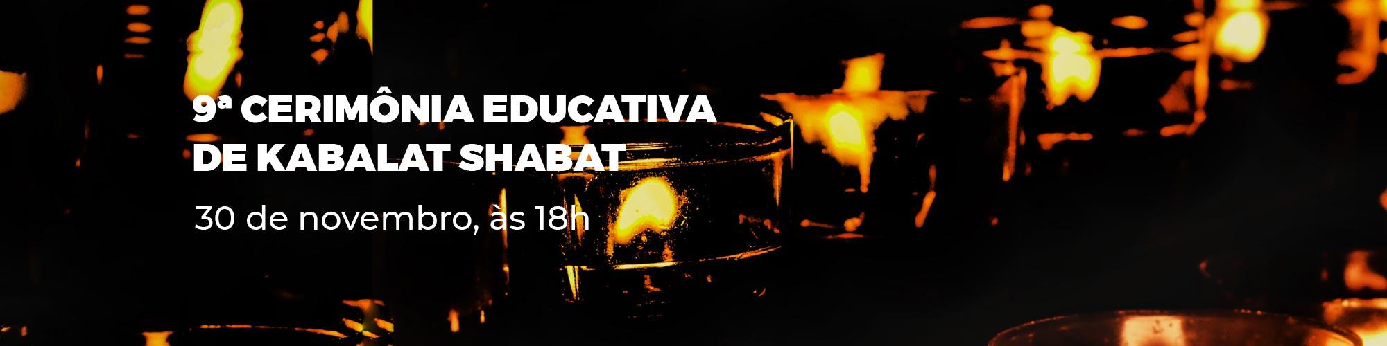 Raul Meyer celebra penúltima cerimônia educativa de Kabalat Shabat de 2018