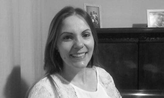 A professora Luciane Bonace Lopes Fernandes/Acervo pessoal