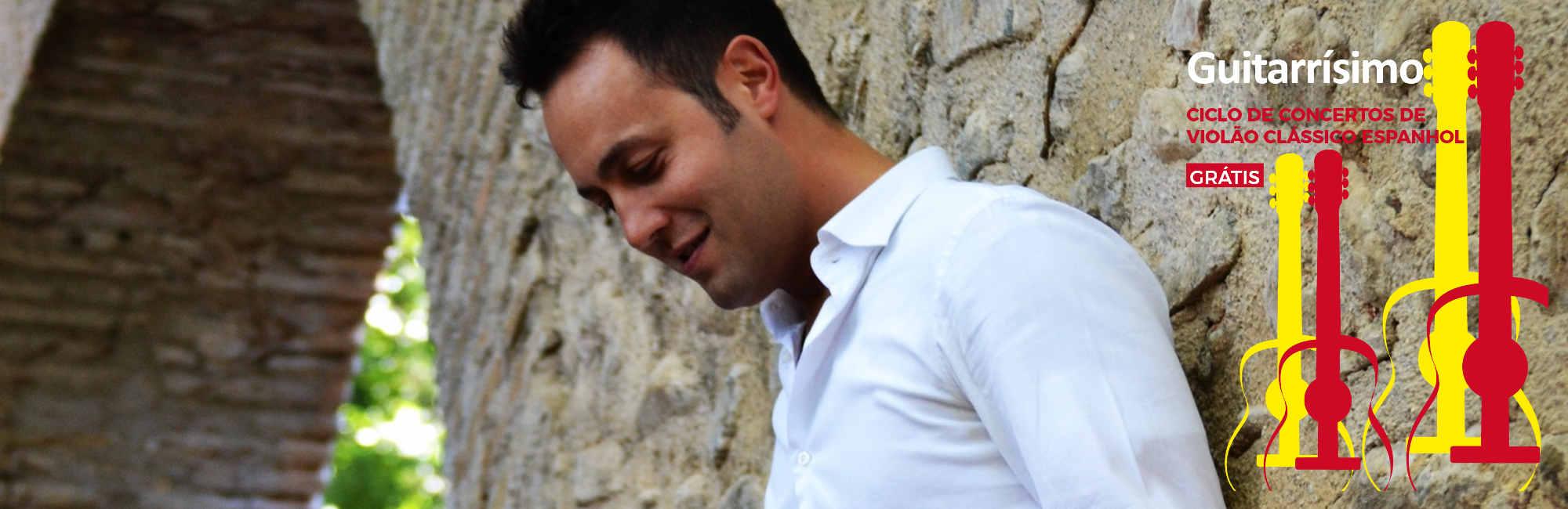 David Martínez García encerra ciclo de concertos Guitarrísimo