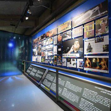 """Exposição """"50 anos de mídia no Brasil – 1968 – 2018""""/Flavio Santana/Divulgação"""