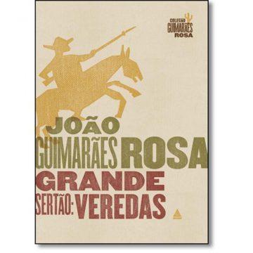 """O romance """"Grande Sertão: Veredas"""", de Guimarães Rosa, foi lançado em 1956/Divulgação"""