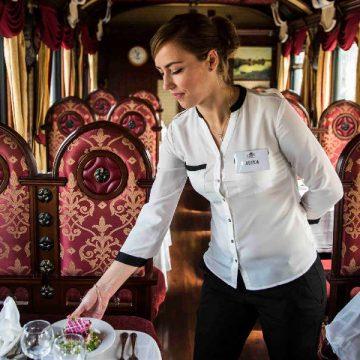 Serviço de bordo do Grande Expresso Transiberiano/Divulgação