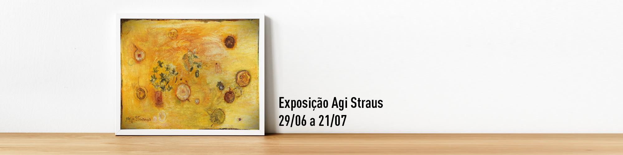 Agi Straus realiza exposição na Unibes Cultural