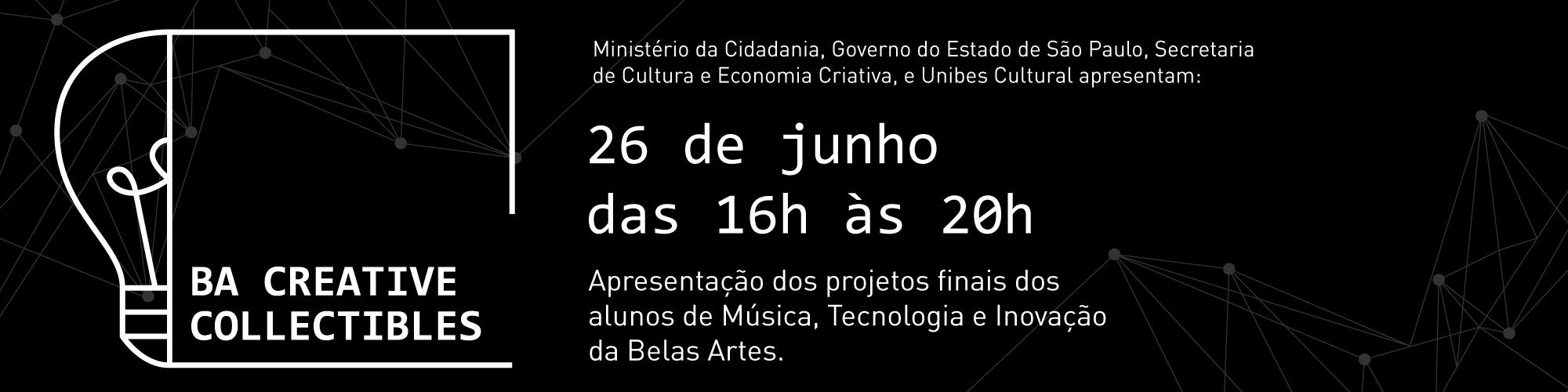 Grupo BA Creative Collectibles Music se apresenta na Unibes Cultural
