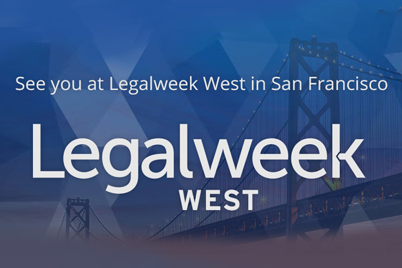 UniCourt at Legalweek West in San Francisco