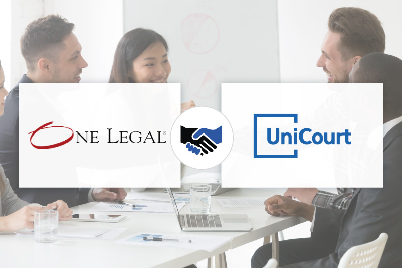 UniCourt Joins One Legal's Marketplace to Improve Access to Court Records