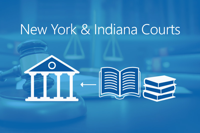 UniCourt Product Release – Easy Access to New York and Indiana Court Records