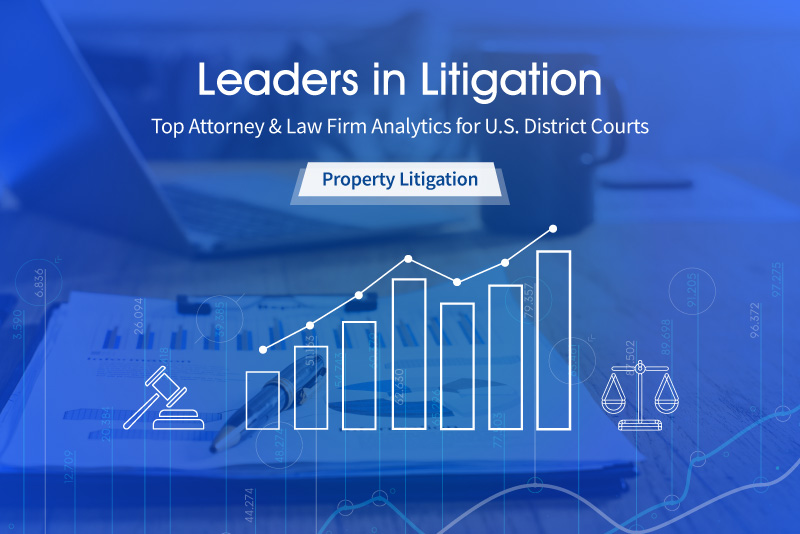 UniCourt Legal Analytics Reports – U.S. District Courts Property Litigation 2019