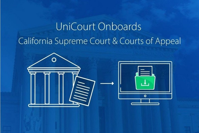 UniCourt Product Release –  New Court Data for California Supreme Court & Courts of Appeal