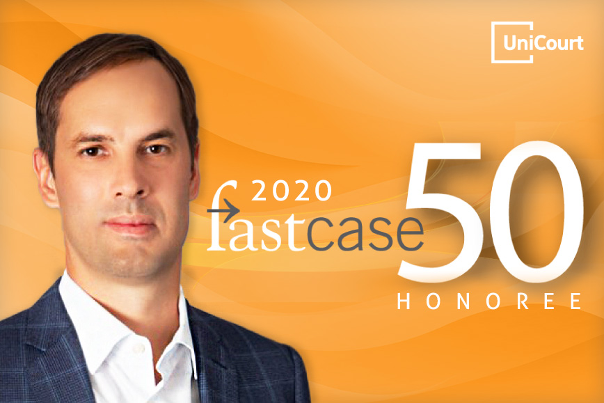 UniCourt CEO & Co-Founder, Josh Blandi Named as Fastcase 50 Honoree