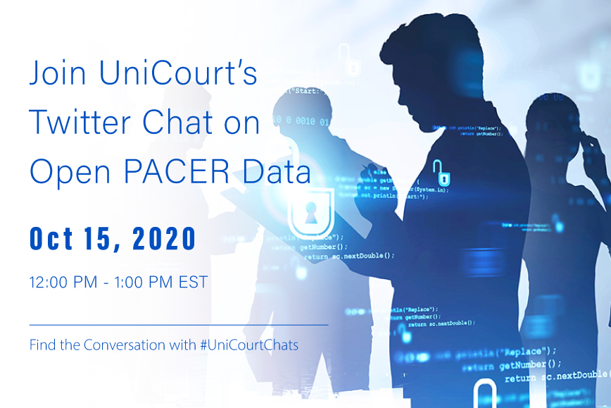 Join UniCourt's Conversation on Open PACER Data