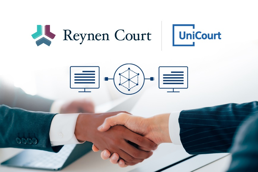 UniCourt Now Featured in Reynen Court's Law Firm Solution Store