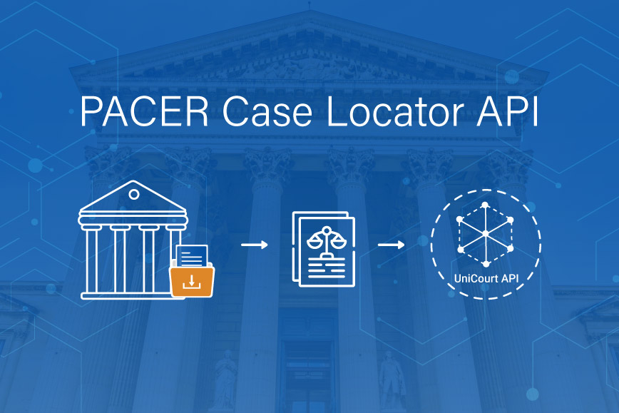 Product Review — UniCourt's PACER Case Locator API