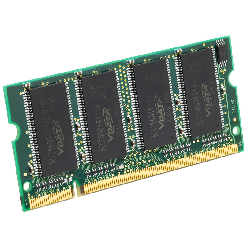1GB DDR-333 PC2700 Non-ECC Unbuffered 200 Pin 2.5V CL=2.5 Memory 64X8