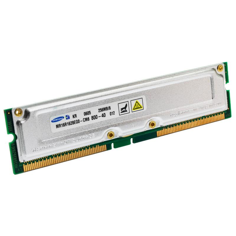 512MB RDRAM PC-800 Non-ECC Unbuffered 184 Pin 2.5V 40NS Memory